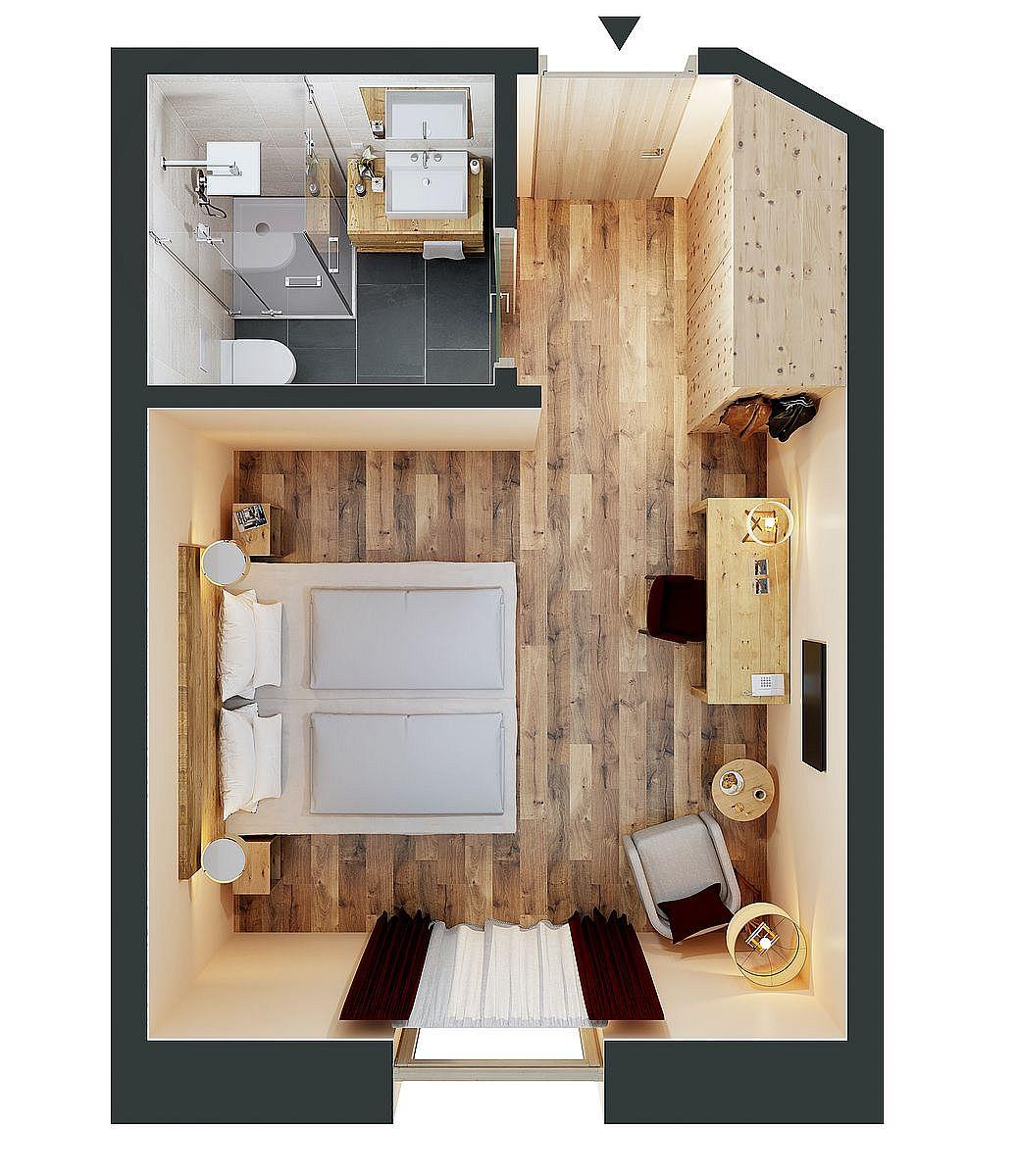 Zimmer Komfort Terrasse
